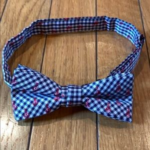 Tommy Hilfiger Bow Tie Checkered with Crabs Youth